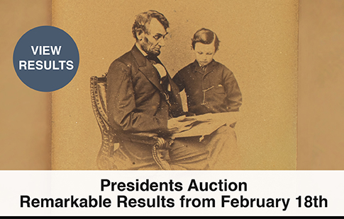 Browse Lots In Our Current or Recent Auction